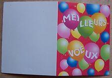 carte MEILLEURS VOEUX pour envoi photo