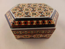 Khatam Jewelry/Trinket/Gift Box - Persian Wooden Handcraft Inlaid Iranian Art