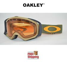 OAKLEY® CROWBAR® SNOW BOARD SKI GOGGLES KHAKI OLIVE GREEN BROWN PERSIMMON TINT