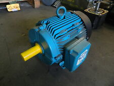Brook Crompton 10 HP AC Motor, 460 VAC, 3600 RPM, Rebuilt, Warranty