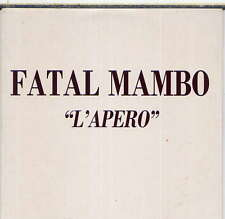 FATAL MAMBO - rare CD Single - France - Promo