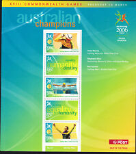 2006 Australia MS Commonwealth games sheet 2 cycling swimming