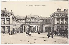 FRANCE - Paris - Le Conseil d'Etat - Council of State - c1910s era postcard