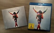 This is it - Michael Jackson BLU-RAY +CD album. 2 volumes