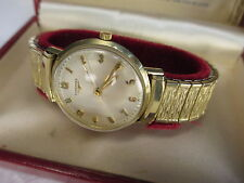 Vintage Longines Wittnauer 280 14K Gold 17 Jewel Men's Watch