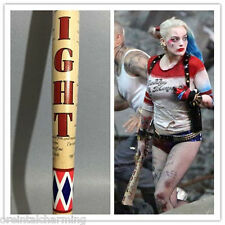 "Size 34"" Harley Quinn Suicide Squad Wooden Baseball bat Halloween Cosplay Gift"