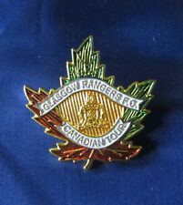 GLASGOW RANGERS CANADA TOUR BADGE