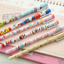 6 pcs/set Color Gel pen 2016 New hello kitty  Roller ball pen Stationery Gift