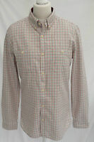 Mens NEXT Checked Vintage 100% Quality Cotton Casual s,m,l,xl,xxl Shirt FREE P&P