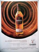 PUBLICITE-ADVERTISING :  GLENFIDDICH Solera Vat  2016 Whisky,Alcool