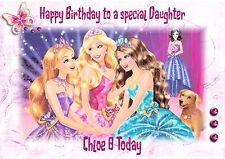 Personnalisé Carte Anniversaire Barbie Fille GRANDAUGHTER nièce soeur K