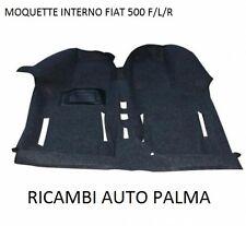 TAPPETO PAVIMENTO RIVESTIMENTO PEDANA IN MOQUETTE FIAT 500 F/L/R DAL 1965