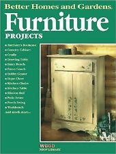 Acc, Furniture Projects (Better Homes and Gardens Wood Shop Library), Better Hom