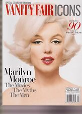 VANITY FAIR ICONS MARILYN MONROE, SPECIAL EDITION MAGAZINE 2016, NEW NO LABEL.