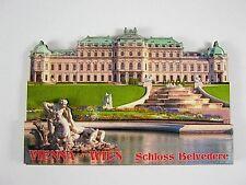 WIEN Schloss Belvedere Österreich,3 D großer Holz Magnet,Souvenir Austria,NEU