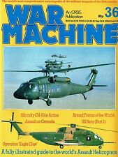 WAR MACHINE MILITARY ENCYCLOPEDIA #36: GRENADA WAR/ SIKORSKY CH-53/ HELICOPTERS