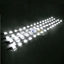 4PCS Waterproof 30CM LED Flexible Strip Light DC 12V For Marine Kitchen Cabinet