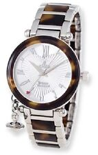 Ladies Vivienne Westwood Orb Tortoise Look Watch NIB!! Retail $447.00