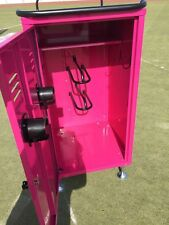 Equestrian Tack Lockers With Heavy Duty Wheels - In Pink
