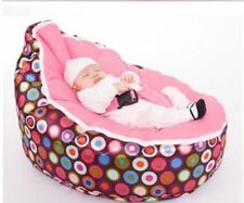 Beautiful Colorful Dots Infant Bean Bag Baby Portable Beanbag Chair No Fillings