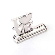 50 silver LOVE letter words Wedding Engagement Name Card Stands bomboniere favor