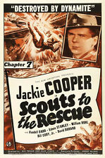Scouts to the Rescue - Cliffhanger Serial Movie DVD Jackie Cooper