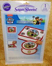 Paw Patrol, Ruff, Sugar Sheet, Edible Decorating Paper, Wilton,710-7910,
