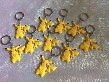 Party Bag Fillers X 10 Pokemon  Keyrings Pikachu
