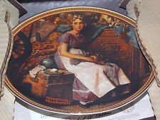 """Edwin M. Knowles China Co. """"Dreaming In The Attic"""" Collector Plate w/ COA"""