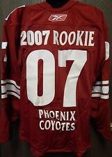 RARE NHL Reebok Authentic Phoenix Coyotes 2007 Rookie Jersey Size 54
