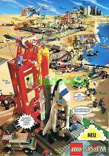 """ORIG. 1995, """"sistema LEGO 6339, 6614, 6516, 6336, 6484"""" publicidad publicitarias 24x17cm"""