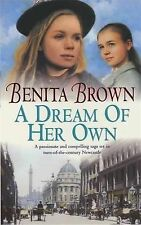 Benita Brown A Dream of Her Own Very Good Book