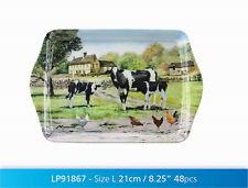 Macneil basse-cour Vaches design 21cm petites Mélamine Plateau sandwich lp91867