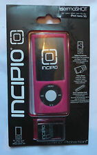INCIPIO dermashot iPod Nano 5G ROSA Custodia + Proteggi superficie & Video Supporto