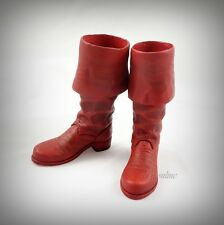 Hot Toys The First Avengers CAPTAIN AMERICA (Star Spangled Man) 1/6 RED BOOTS