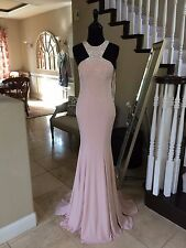 $460 NWT PINK/BLUSH JVN BY JOVANI PROM/PAGEANT FORMAL DRESS/GOWN #35097 SIZE 2