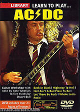LICK LIBRARY Learn to Play AC/DC 1 Angus Young BACK IN BLACK LESSON Guitar DVD
