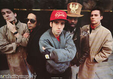 POSTER :MUSIC: BIG AUDIO DYNAMITE - ALL 5 POSED - FREE SHIPPING ! #AA244  LW21 R
