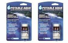 "''Potable Aqua""'' Water Purification Tablets - 2 Bottles - 100 Tablets"