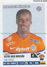 N°261 VICTOR HUGO MONTANO COLOMBIA MONTPELLIER.SC MHSC STICKER FOOT 2014 PANINI