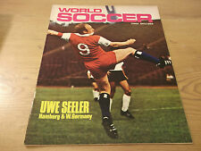 Football Magazine World Soccer April 1970 Birchenall World Cup England Belgium