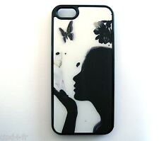 Coque housse protection pr Apple iphone 5/ 5S/ 5G Case cover- Butterfly/Papillon