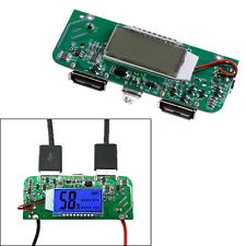 Dual USB 5V Power Bank Charger PCB Board Boost Step Up Board LED Screen Display