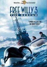 FREE WILLY PART 3 THE RESCUE DVD New Sealed Original Genuine UK Release