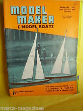 MODEL MAKER BOATS 1965 JANUARY SS FORDSDALE ROYAL MAIL COACH AIRFIX