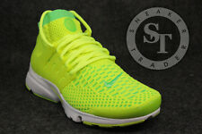NIKE WOMENS AIR PRESTO FLYKNIT ULTRA 835738-300 VOLTAGE GREEN VOLT SIZE: 6.5