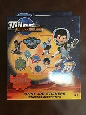 Disney's Miles from Tomorrowland Paint Job Stickers - Set of 48