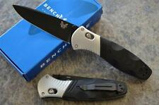 Benchmade 581BK Barrage Spring Assisted Knife w/ M390 Steel Blade & Axis Lock