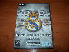 REAL MADRID CLUB FOOTBALL 2005 PC (EDICIÓN ESPAÑOLA PRECINTADO)