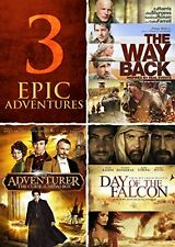 Adventurer, Day of the Falcon, The Way Back Triple Feature (DVD)